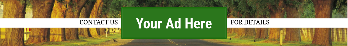 Your Ad Here - Contact Us Today