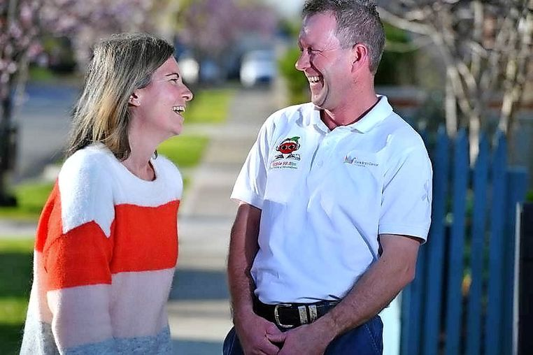 Bacchus Marsh Man Supports Cancer Victim