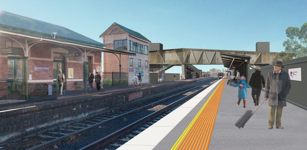 Bacchus Marsh Station Upgrade