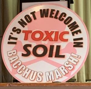 bacchus marsh toxic soil